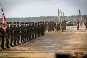 organizacja uroczystości w Żaganiu - wydarzenie wojskowe