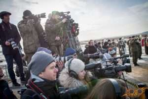 organizacja uroczystości - Żagań woj. lubuskie - przemówienie Prezydenta