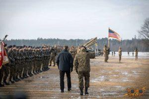 organizacja uroczystości - Żagań woj. lubuskie - wystąpienie ministra
