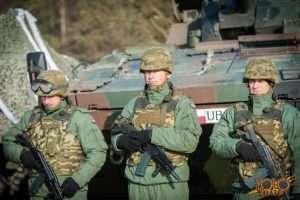 polsko-amerykańskie ćwiczenia wojskowe - przemówienie Prezydenta