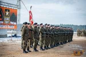 polsko-amerykańskie ćwiczenia wojskowe w Żaganiu - inauguracja