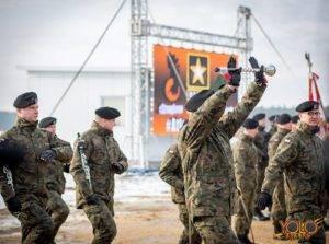 polsko-amerykańskie ćwiczenia wojskowe w Żaganiu - organizacja inauguracji