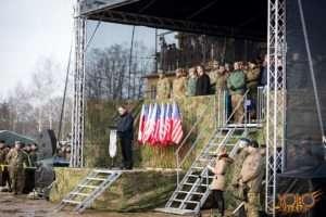 Żagań - inauguracja ćwiczeń wojskowych