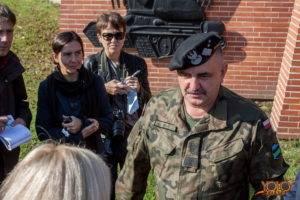 armia USA - uroczystość w Żaganiu - brygada
