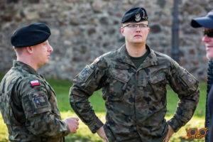 armia USA - uroczystość w Żaganiu - lubuskie