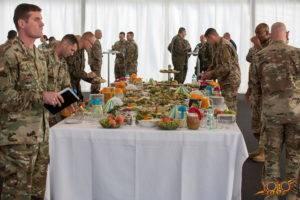 armia USA - uroczystość w Żaganiu - organizacja
