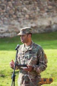 armia USA w Żaganiu - uroczystość