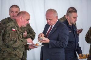armia USA - wydarzenie w Żaganiu - Żelazna Brygada - uroczystość