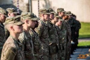 brygada sztyletów z 1. dywizji piechoty armii USA z Fort Riley w Kansas