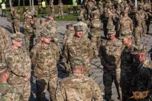woj lubuskie opuszcza Żelazna Brygada z Fort Carson