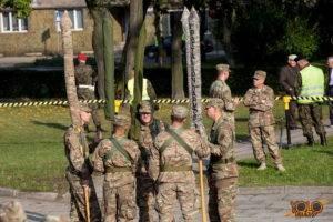 Żagań opuszcza - Żelazna Brygada 4. dywizji piechoty z Fort Carson