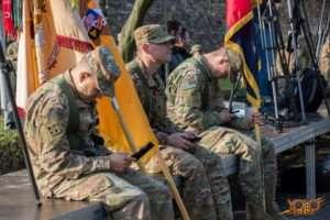Żagań woj lubuskie opuszcza Żelazna Brygada z Fort Carson