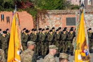 Żagań woj lubuskie opuszcza Żelazna Brygada - zdjęcia
