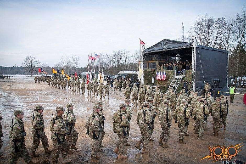 inauguracja misji amerykańskiego wojska w Polsce