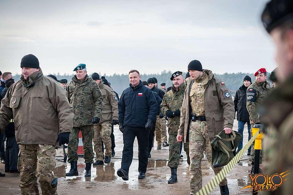 inauguracja polsko-amerykańskich ćwiczeń wojskowych