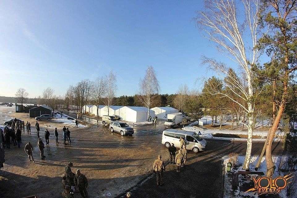 przygotowania do wystąpienia prezydenta RP Andrzeja Dudy na poligonie Karliki