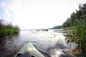 Faurecia - spływ kajakowy
