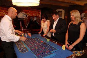 impreza firmowa - kasyno