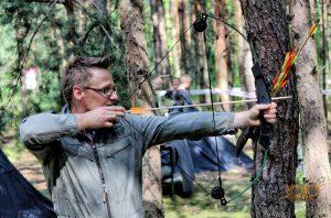 impreza integracyjna - strzelanie do tarczy