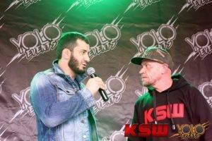 KSW 36 - Zielona Góra - Khalidov Mamed