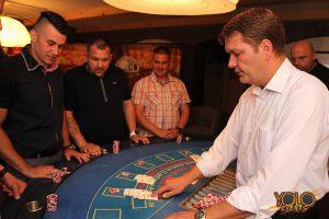 organizacja imprez firmowych - kasyno