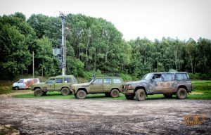 Rockfon - impreza integracyjna - samochody terenowe