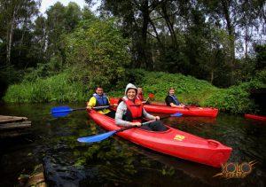 spływ kajakowy - impreza integracyjna - Zielona Góra