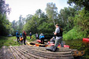 spływ kajakowy, wyjazd integracyjny - Zielona Góra