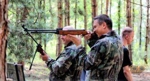 wyjazd integracyjny - strzelnica